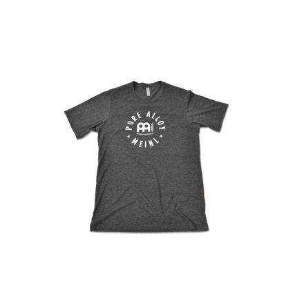 Meinl Pure Alloy T-shirt - Charcoal - Small