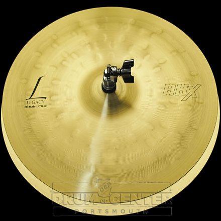 "Sabian HHX Legacy Hi Hat Cymbals 15"" 916/1291 grams"