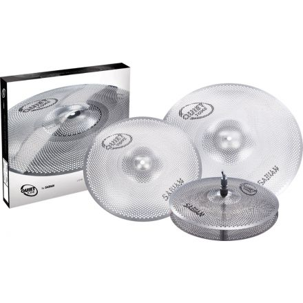Sabian Quiet Tone Practice Cymbals Set QTPC502