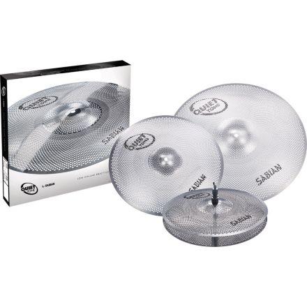 Sabian Quiet Tone Practice Cymbals Set QTPC503