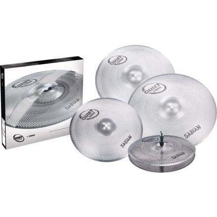 Sabian Quiet Tone Practice Cymbals Set QTPC504
