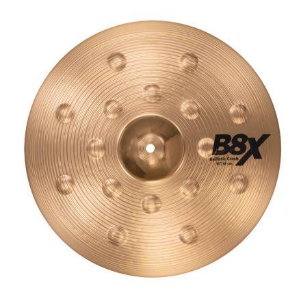 "Sabian B8X Ballistic Crash Cymbal 16"""