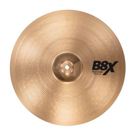 "Sabian B8X Rock Crash Cymbal 16"""