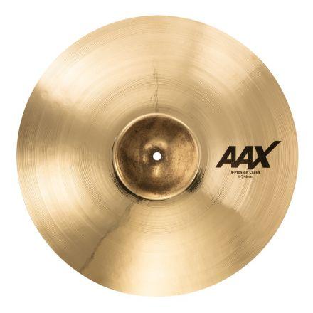 """Sabian AAX X-Plosion Crash Cymbal 19"""" Brilliant"""