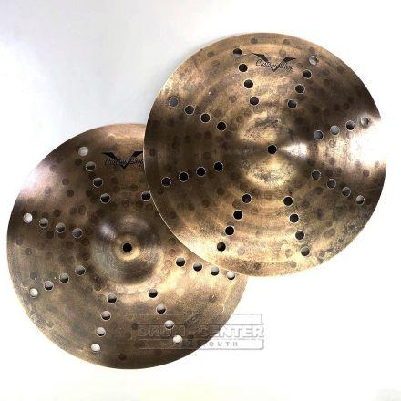 "Sabian Prototype AAX FX Hi Hat Cymbals 14"" 871/892 grams"