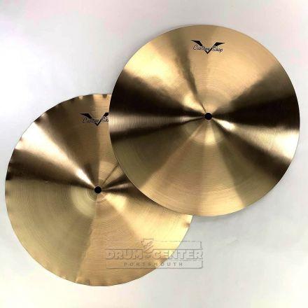 "Sabian Prototype HHX/AAX X-Celerator Hi Hat Cymbals 14"" 765/1170 grams"
