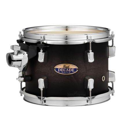 "Pearl Decade Maple 10""x7"" Tom - Satin Blackburst"