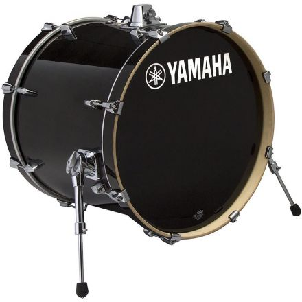 Yamaha Stage Custom Birch Bass Drum - 18x15 - Raven Black