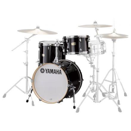 Yamaha Stage Custom Birch Jazz 3pc Drum Set Raven Black