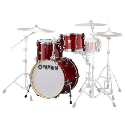 Yamaha Stage Custom Birch Jazz 3pc Drum Set Cranberry Red