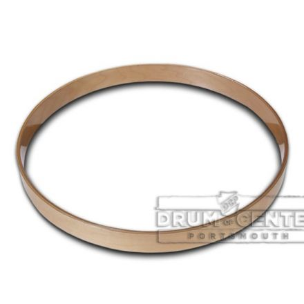 Gibraltar 22 inch Maple Bass Drum Hoop - Natural Lacquer