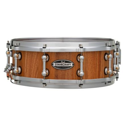 Pearl Stavecraft Makha Snare Drum - 14x5 - Hand Rubbed Natural