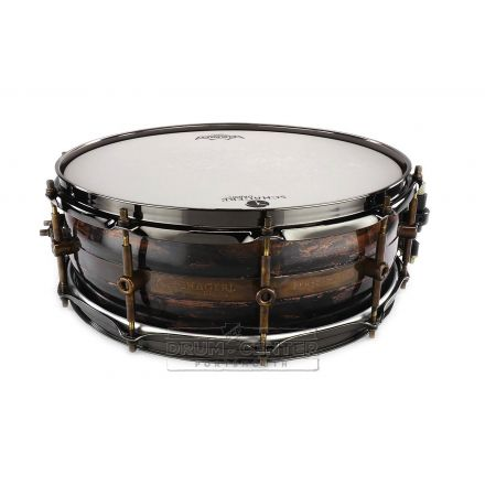 Schagerl Persephone Copper Dark Vintage Snare Drum 14x5 w/ Vint Brass Tube Lugs