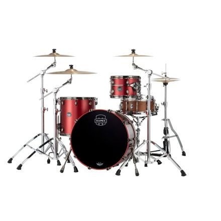 Mapex Saturn Evolution Hybrid Organic Rock 3 Pc Drum Set Without Snare - 22/12/16 - Tuscan Red