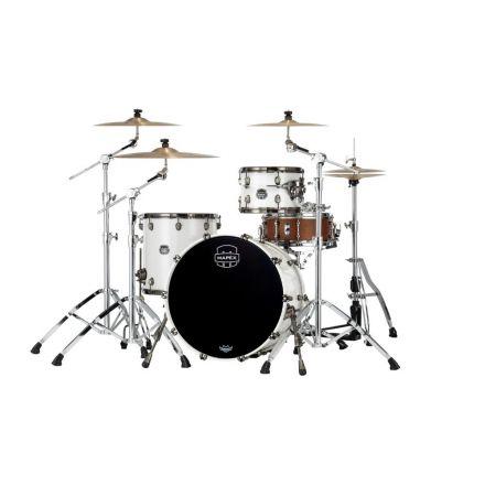 Mapex Saturn Evolution Hybrid Organic Rock 3 Pc Drum Set Without Snare - 22/12/16 - Polar White