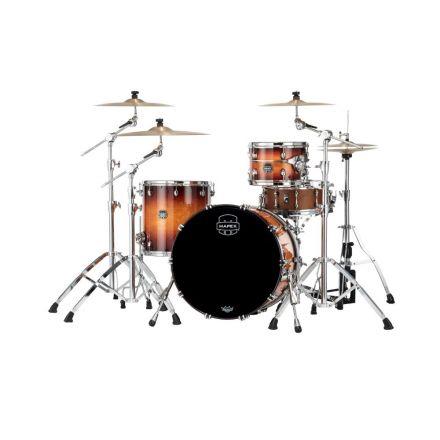 Mapex Saturn Evolution Hybrid Organic Rock 3 Pc Drum Set Without Snare - 22/12/16 - Exotic Sunburst