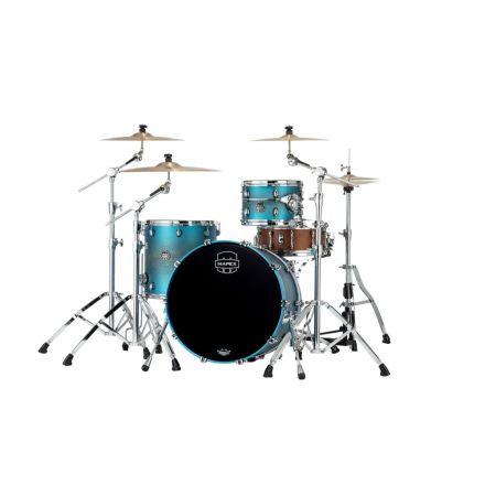 Mapex Saturn Evolution Hybrid Organic Rock 3 Pc Drum Set Without Snare - 22/12/16 - Exotic Azure Burst