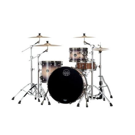Mapex Saturn Evolution Hybrid Powerhouse Rock 3 Pc Drum Set Without Snare - 24/13/16 - Exotic Violet Burst