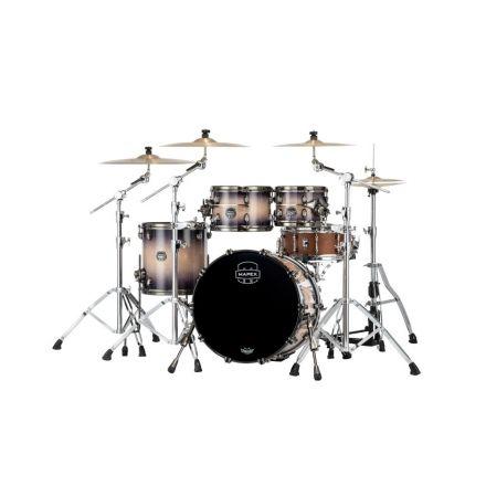 Mapex Saturn Evolution Fusion 4 Pc Birch Drum Set Without Snare - 20/10/12/14 - Exotic Violet Burst