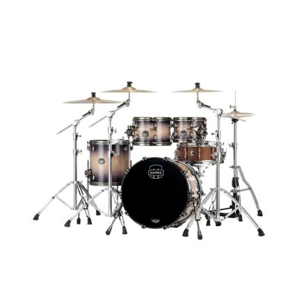 Mapex Saturn Evolution Fusion 4 Pc Maple Drum Set Without Snare - 20/10/12/14 - Exotic Violet Burst