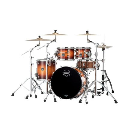 Mapex Saturn Evolution Fusion 4 Pc Maple Drum Set Without Snare - 20/10/12/14 - Exotic Sunburst