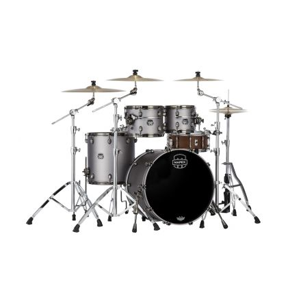 Mapex Saturn Evolution Fusion 4 Pc Maple Drum Set Without Snare - 20/10/12/14 - Gun Metal Grey