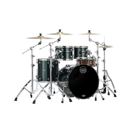 Mapex Saturn Evolution Rock 4 Pc Maple Drum Set Without Snare - 22/10/12/16 - Brunswick Green
