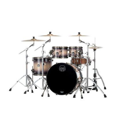 Mapex Saturn Evolution Classic 4 Pc Birch Drum Set Without Snare - 22/10/12/16 - Exotic Violet Burst