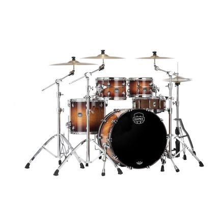 Mapex Saturn Evolution Classic 4 Pc Birch Drum Set Without Snare - 22/10/12/16 - Exotic Sunburst