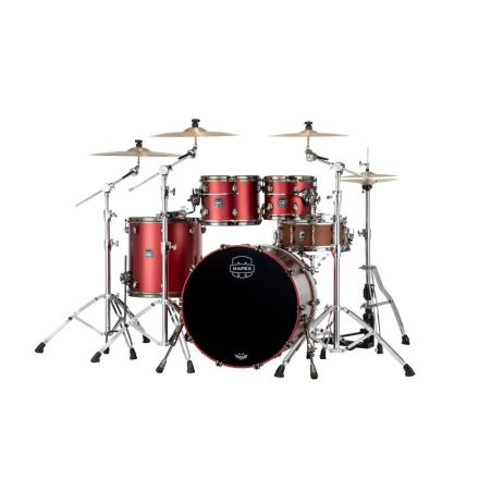 Mapex Saturn Evolution Rock 4 Pc Maple Drum Set Without Snare - 22/10/12/16 - Tuscan Red