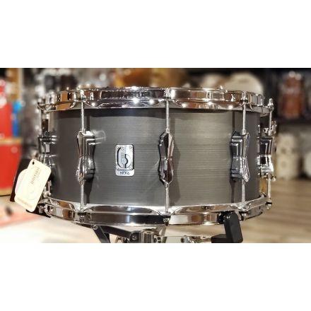 British Drum Company Nicko McBrain Signature Snare Drum 14x6.5 - The Talisman