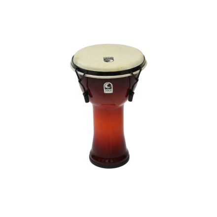 """Toca Freestyle Mechanically Tuned Djembe 10"""" African Sunset"""