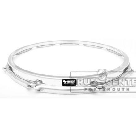 """S-hoop Drum Hoops : 14"""" 10 Hole Chrome/Steel"""