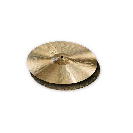 "Paiste Signature Traditionals Medium Light Hi Hat Cymbals 14"""