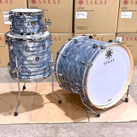 Sakae Trilogy 3pc 22/10/14 Drum Set - Sky Blue Pearl - Clearance Deal!