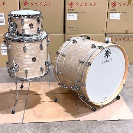 Sakae Trilogy 22/10/14 Vintage Club Oyster Drum Set - Clearance Deal!