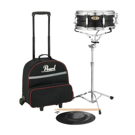 Pearl Student Snare Kit w/Rolling Case - SK910C