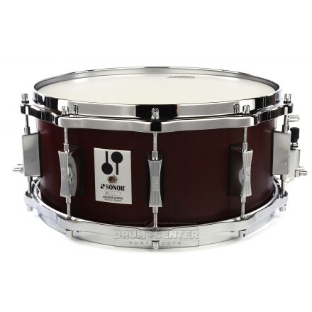 Sonor Phonic Reissue Beech Snare Drum 14x6.5 Mahogany