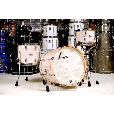 Sonor Vintage Series 3pc Downbeat Drum Set Vintage Pearl