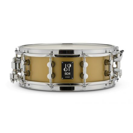 Sonor SQ1 Snare Drum 14x5 - Satin Gold Metallic