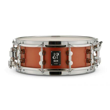 Sonor SQ1 Snare Drum 14x6.5 - Satin Copper Brown
