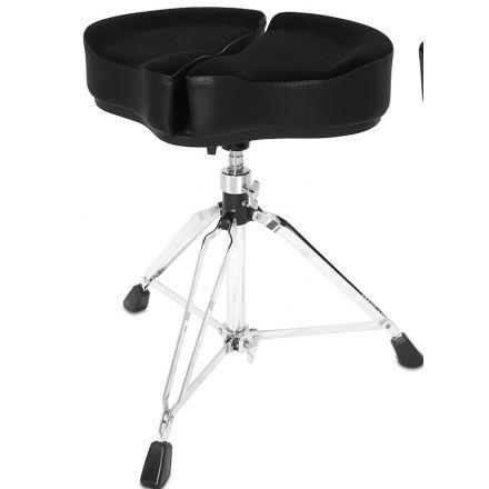 Ahead Spinal G Saddle Drum Throne Black Cloth Top/Black Sides