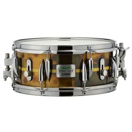 Sonor Benny Greb Signature New Brass Snare Drum 13x5.75 - Vintage Brass