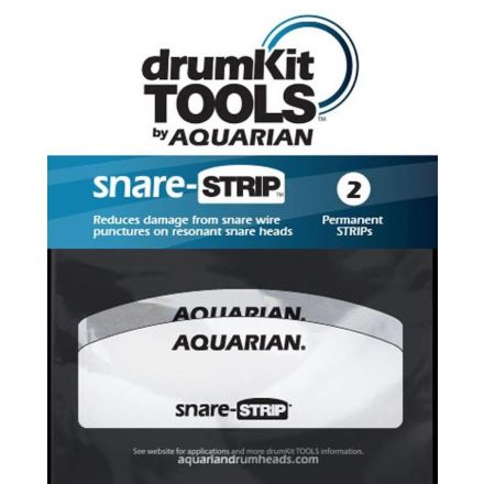 Aquarian snareSTRIP Snare Wire Head Guard 2pack