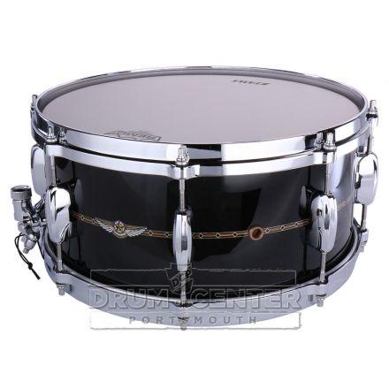 Tama Star Bubinga 14x6.5 Snare Drum - Piano Black