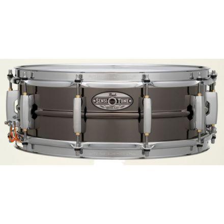 Pearl Sensitone Heritage Alloy Snare Drum - 14x5 - Black Nickel Over Brass