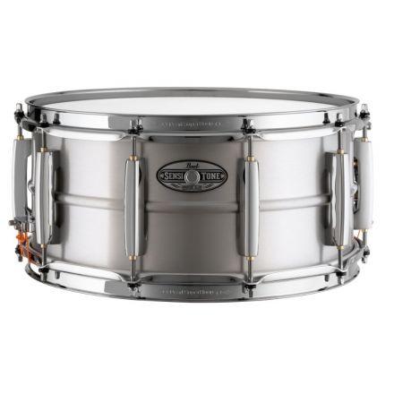 Pearl Sensitone Heritage Alloy Snare Drum - 14x6.5 - Aluminum