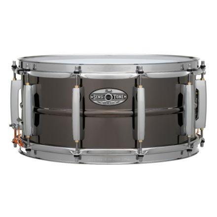 Pearl Sensitone Heritage Alloy Snare Drum - 14x6.5 - Black Nickel Over Brass