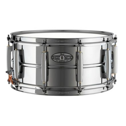 Pearl Sensitone Heritage Alloy Snare Drum - 14x6.5 - Steel