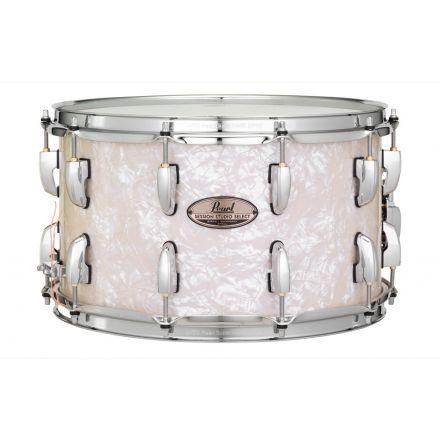 Pearl Session Studio Select 14x8 Snare Drum - Nicotine White Marine Pearl